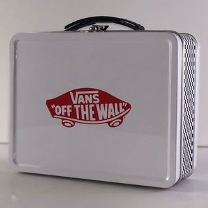 Vans Off The Wall Checkerboard Metal Lunch Box